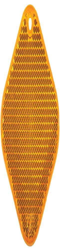 Светоотражатель «Квадрат», оранжевый фото