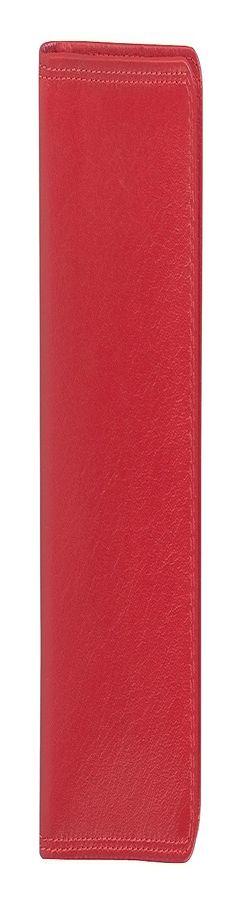 """Бумажник водителя """"Модена"""",  10*14 см,  красный, кожа, подарочная упаковка фото"""