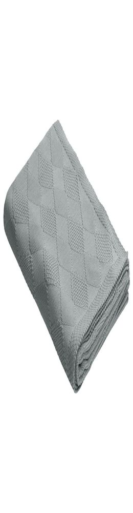 Плед Diamond, серый фото