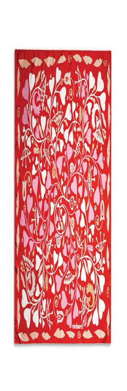 Платок шейный Fairy Garden Red фото