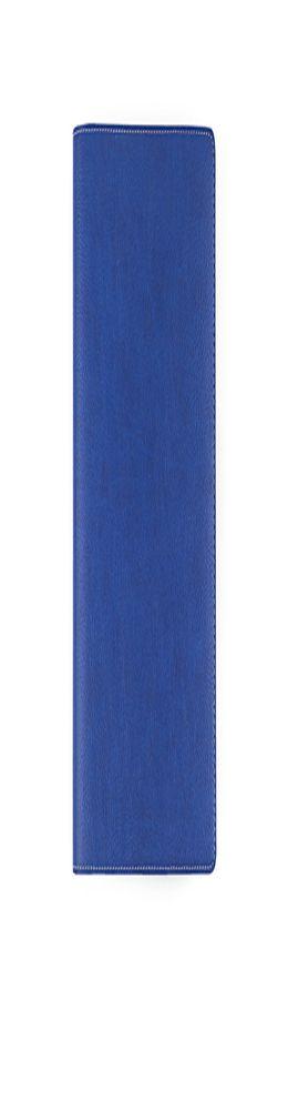 Ежедневник-портфолио Marotta, искусственная кожа, синий/серый (14,5х20,5 см) фото