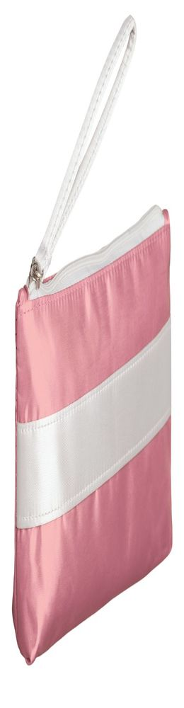 Пенал-косметичка Unit Weekender, розовый с белым фото