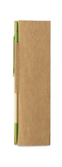 Блокнот для заметок с авторучкой фото