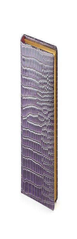 Ежедневник полудатированный Manhattan New, два ляссе, фиолетовый  фото