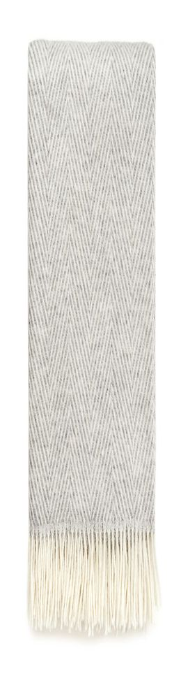 Плед Herringbone, серый фото