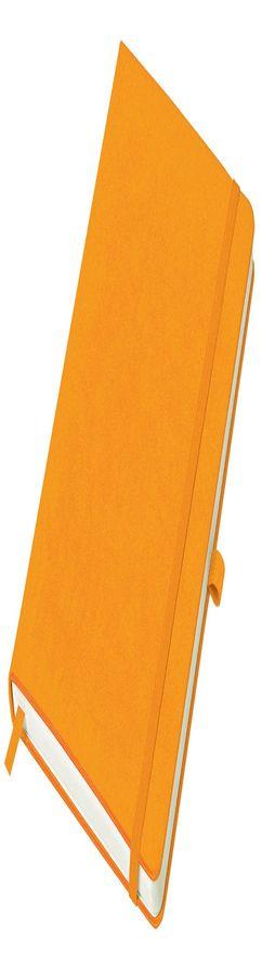 Бизнес-блокнот Justy, А5, в линейку, оранжевый фото
