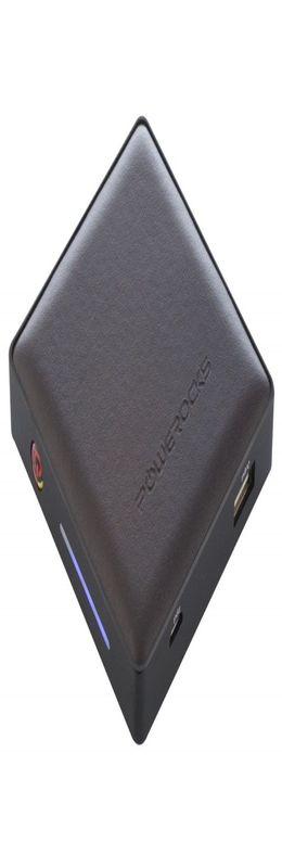 Универсальный внешний аккумулятор Power Elite 7000 mAh, темно-коричневый фото