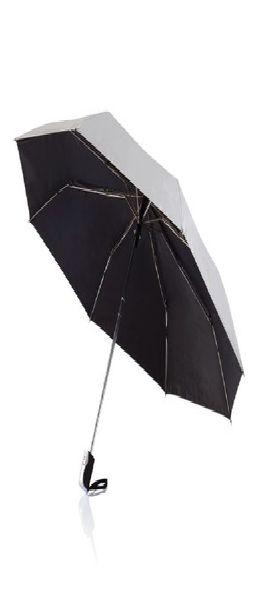 """Складной зонт-автомат Deluxe 21,5"""", серебряный фото"""