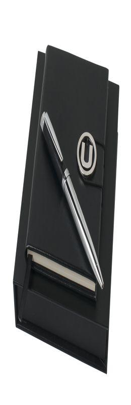 Набор (записная книжка, ручка шариковая) фото