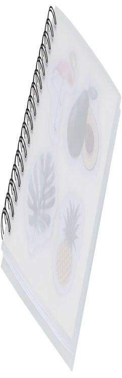 Блокнот А6 «Jungle» с наклейками фото
