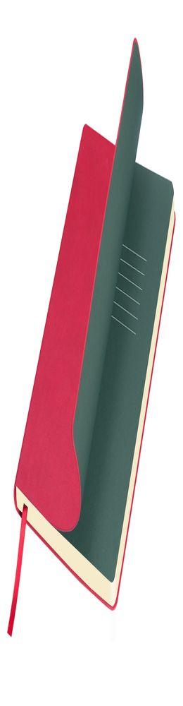 Ежедневник недатированный Portobello Trend, Sky,  красный (стикер, б/ленты) фото
