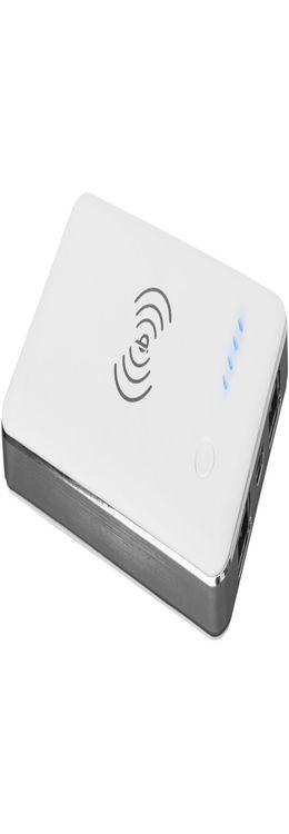 Портативное зарядное устройство беспроводное, 4000 mAh фото