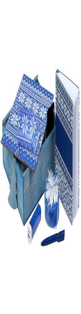 Подарочный новогодний набор «Деловой», синий фото