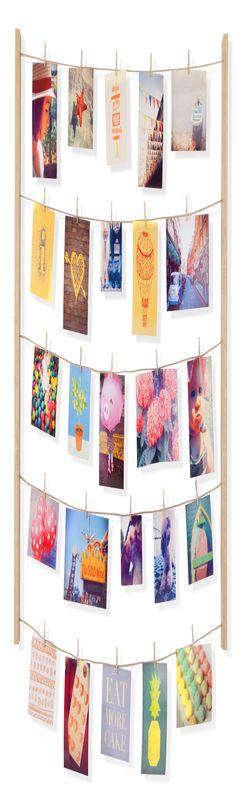Панно с зажимами для 40 фотографий hangit дерево фото