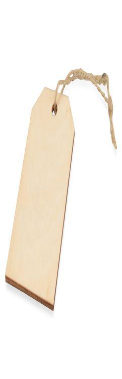 Набор деревянных ярлыков фото