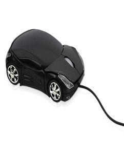 Мышка оптическая в форме автомобиля с подсветкой фар, работающая от USB фото
