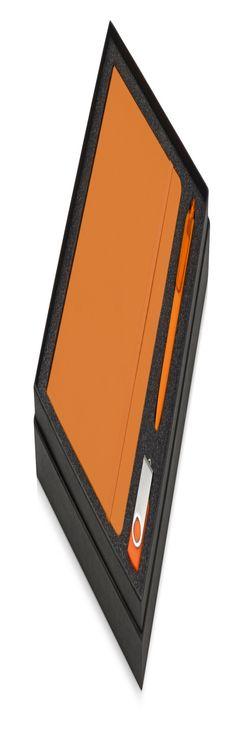 Подарочный набор Vision Pro Plus soft-touch с флешкой, ручкой и блокнотом А5 фото