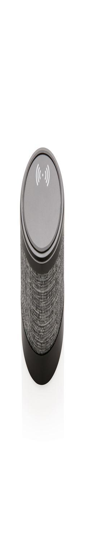 Док-станция для беспроводной зарядки Fabric с колонкой, черный фото