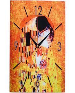 Настенные часы «Климт. Поцелуй» фото