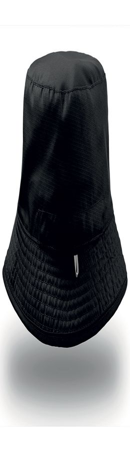 "Панама ""BUCKET POCKET"", черный-серый, 100% нейлон, 85 грм2 фото"