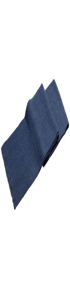 Шарф Stout, синий меланж фото