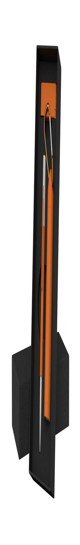 """Набор ручка """"Clas"""" + флешка """"Case"""" 8Гб + зарядное устройство """"Chida"""", емкость 2800 mAh, в футляре фото"""