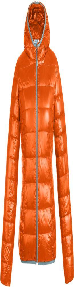 Куртка пуховая женская Tarner Lady, оранжевая фото