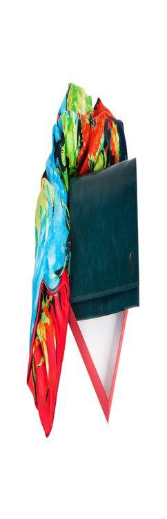 Набор: платок, женский кошелёк фото