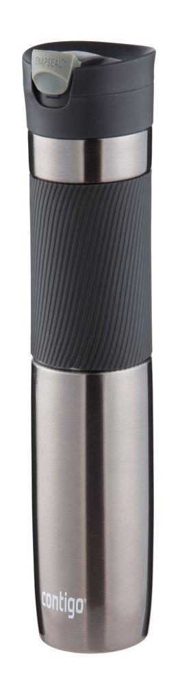 Герметичный термостакан Byron Gunmetal, серо-стальной фото