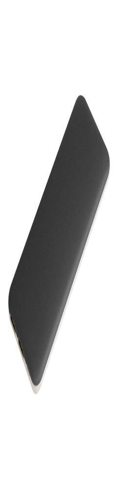 Внешний аккумулятор, Slim PB, 5000 mAh, пластик, покрытие-soft touch, 67х150х10 мм, 123 гр, т.серый/белый, подарочная упаковка фото