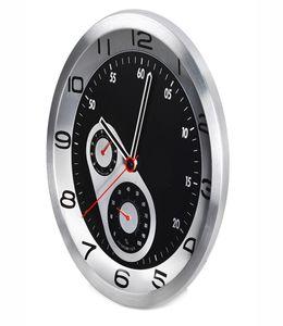 Часы настенные с термометром и гигрометром фото