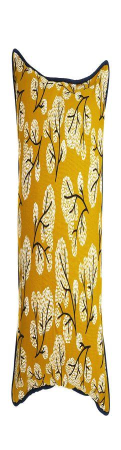 """Чехол для подушки с принтом """"Сибирский цветок"""", вышивкой и декоративной окантовкой фото"""