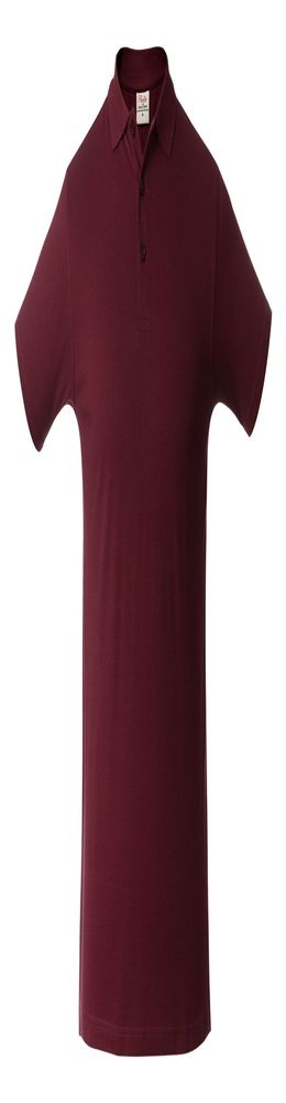 Рубашка поло мужская SURF, бордовая фото