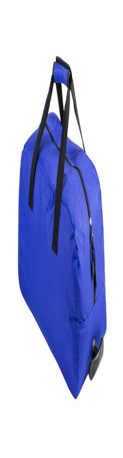 Сумка на 2 колесиках BERTOX, синий, 100% полиэстер 600D фото