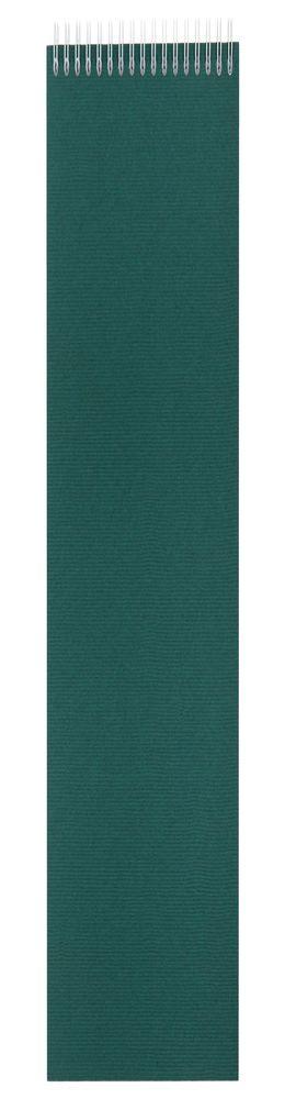 Блокнот Nettuno в линейку, зеленый фото