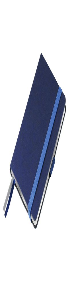 Ежедневник недатированный Portobello Trend, Blue ocean, линейка, серебр. срез, синий фото