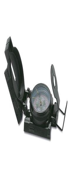 Туристический компас Azimuth, черный фото