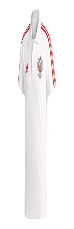 Рубашка поло РОССИЯ 3-STRIPE фото