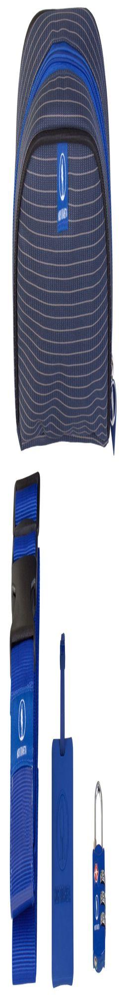 Багажный набор Safe Journey, синий фото