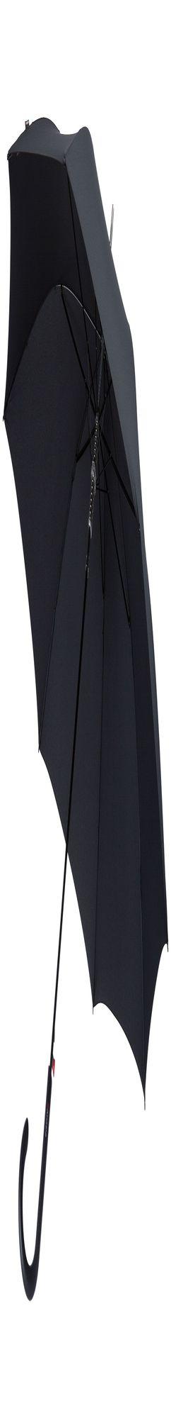 Зонт-трость E.703, черный фото