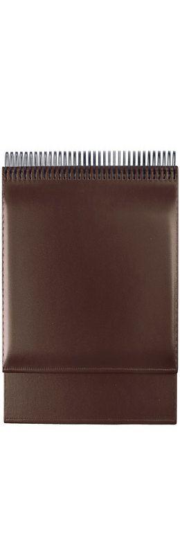 Планинг SIENA, коричневый, кремовый блок, золоченый срез, 2016 фото