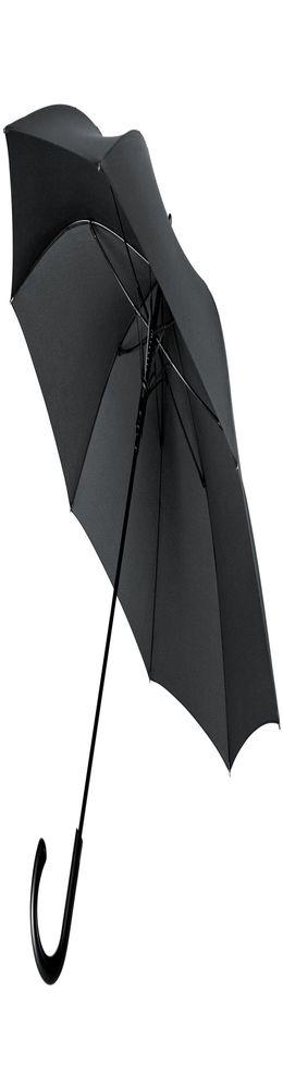 Зонт-трость Alessio, черный фото