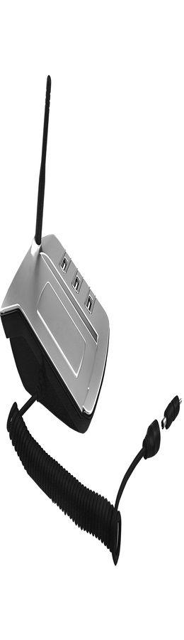 USB-разветвитель с переходниками для зарядки телефона и шариковой ручкой фото