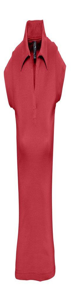 Рубашка поло женская без пуговиц PRETTY 220, красная фото