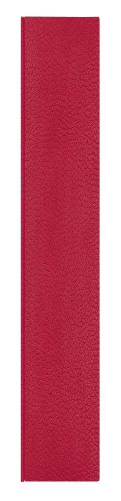 Ежедневник Dallas 5463 145x205 мм, красный , белый блок, черно-синяя графика, 2019 фото
