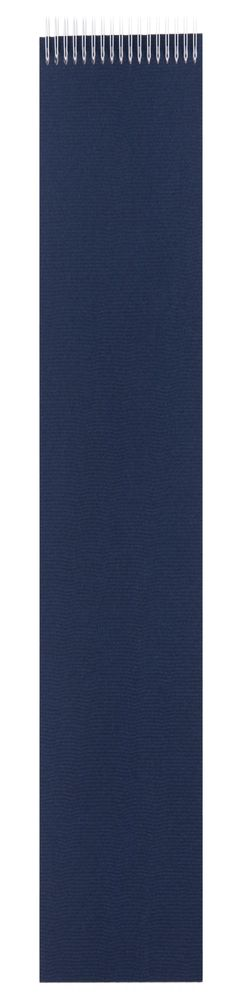 Блокнот Nettuno в линейку, синий фото