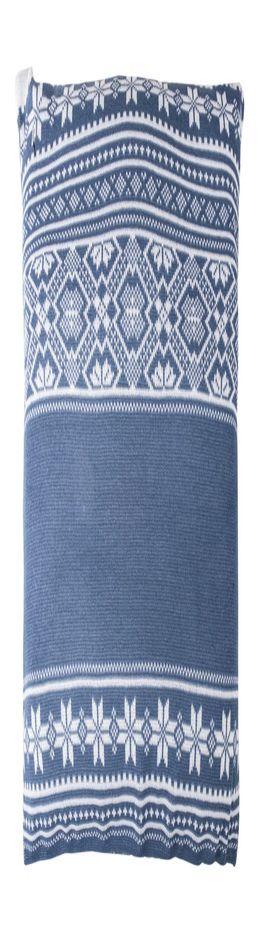 Подушка «Скандик», синяя (индиго) фото