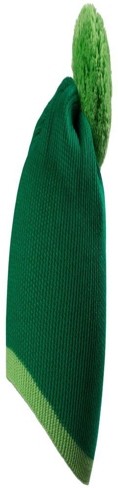 Шапка Amuse, зеленая с салатовым фото