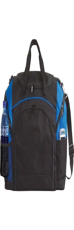 Спортивная сумка Atchison Essential, черная с синим фото