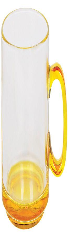 """Кружка """"Joyful"""",прозрачная с желтым,300мл,стекло фото"""